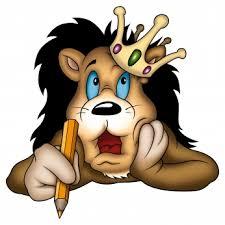 cartoon lion picture