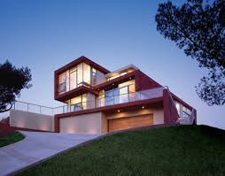 hillside architecture