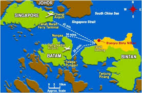 bintan resort map