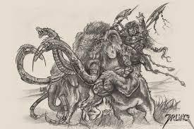 fantasy art sketch