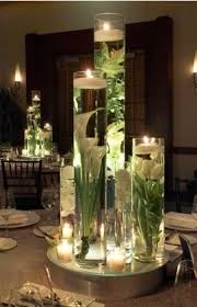 floating candles wedding centerpieces