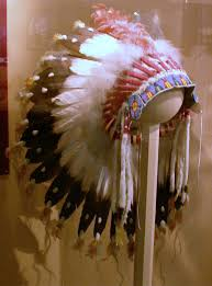 feathered headdresses