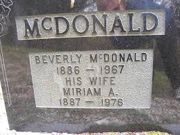 beverly mcdonald