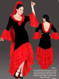 flamenco dancer accessories