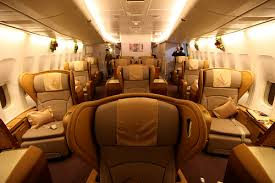 airlines first class