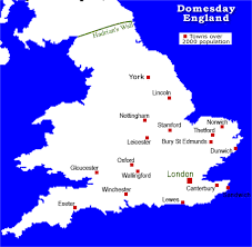 england map towns
