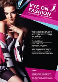 fashion show posters