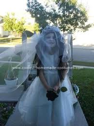 black bride costume