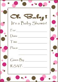 girl baby invitations