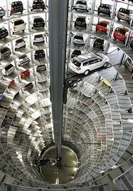 automated parking garage