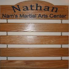martial art belt display