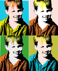 andy warhol pop art photoshop