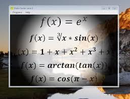 center math
