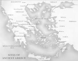 map of greece and surrounding areas