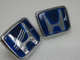 blue honda emblem