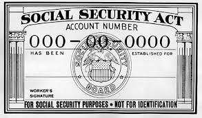 original social security card