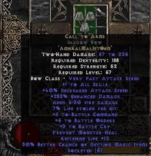 diablo 2 weapons