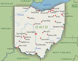 ohio map usa