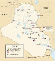 iraq war maps