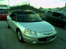 chrysler sebring 2001