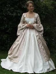 renaissance style wedding gowns
