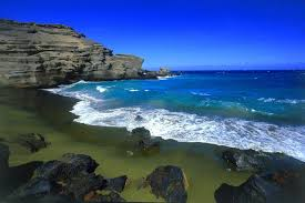 green beach hawaii
