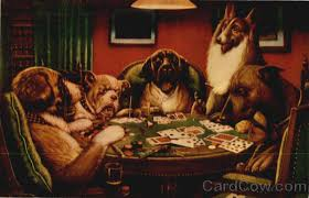 dog poker pictures