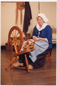 spinning wheel wool