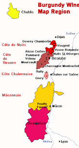 burgundy wine maps