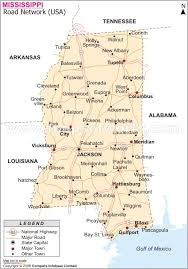 ms highway map