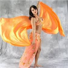 belly dancing veil