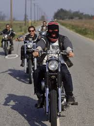 riding motorcycles