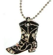 cowboy necklace