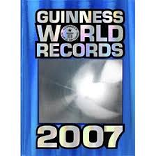 guinness book of world records 2007
