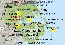 albemarle sound map