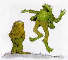 frog and toad the garden