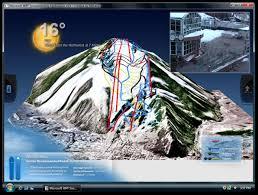 gps mountain