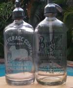 antique seltzer bottle