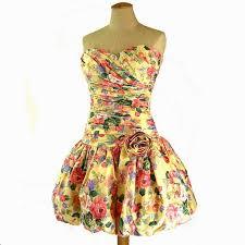 prom bubble dress