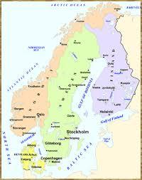 map scandinavian