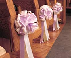 bows for pews