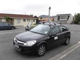 google street map car