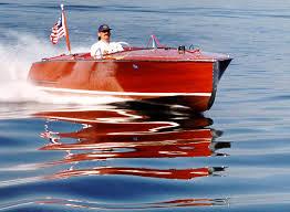 chris craft wood boat