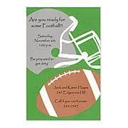 football invitation