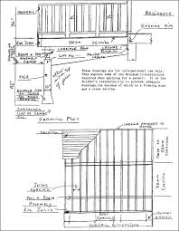 deck drawing