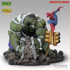 hulk versus spiderman