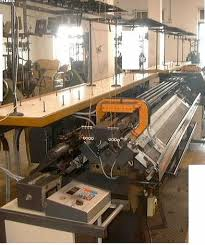 flat bed knitting machines