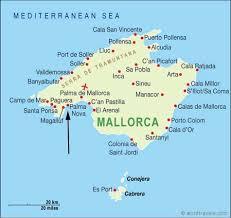 palma nova map