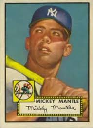 mickey mantle topps