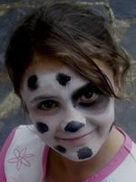 dog face makeup